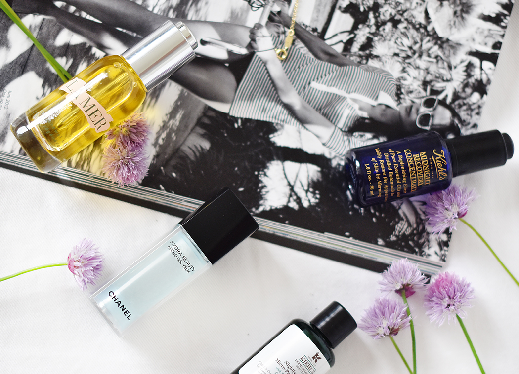 beauty-essentials-irenevanguin-la-mer-kiehls-chanel