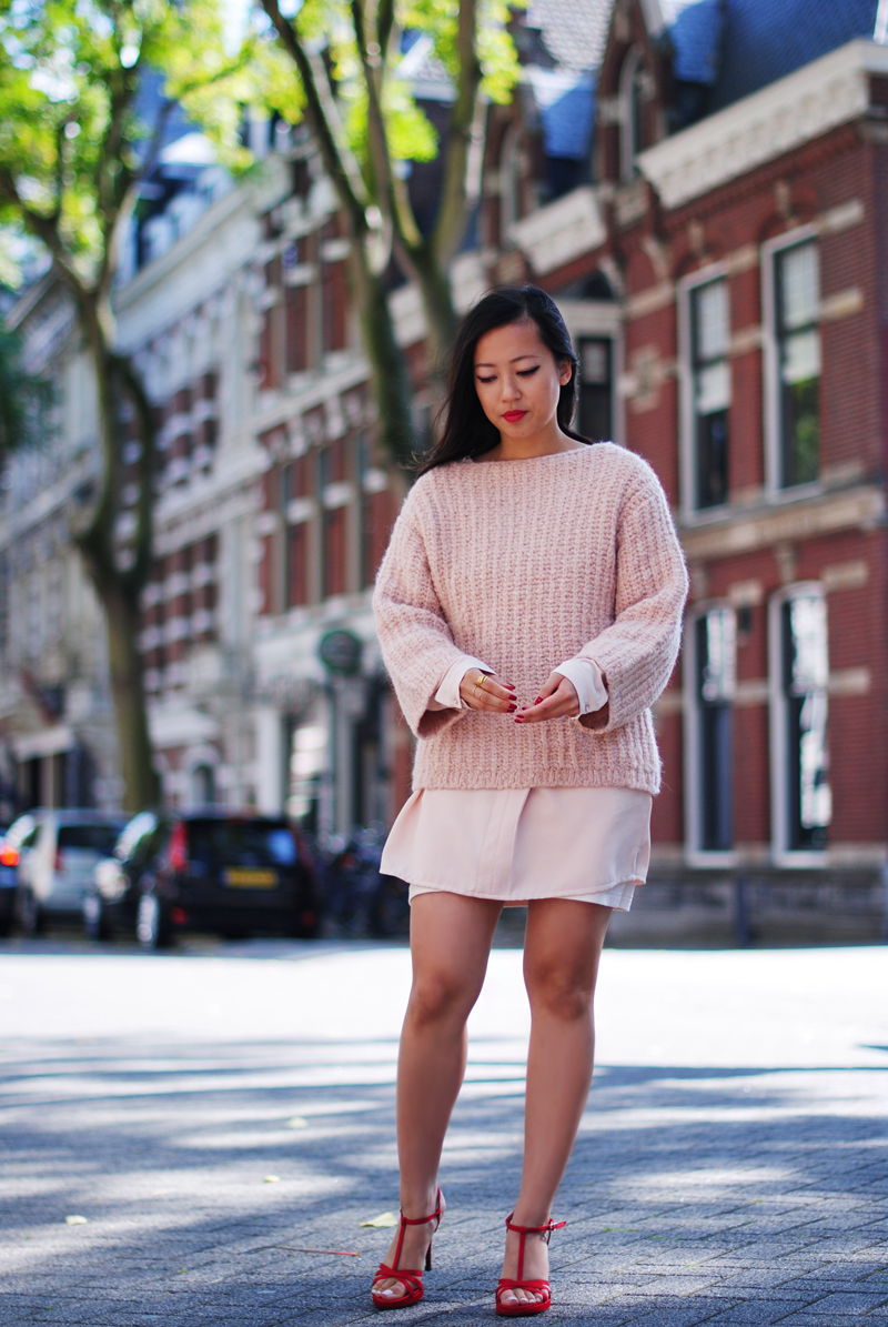 pink-chunky-knitwear-irenevanguin-fall-autumn-trend-2014
