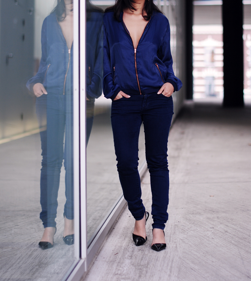 all-blue-outfit-frisur-irenevanguin-imfashionstoned-jacket-marineblue