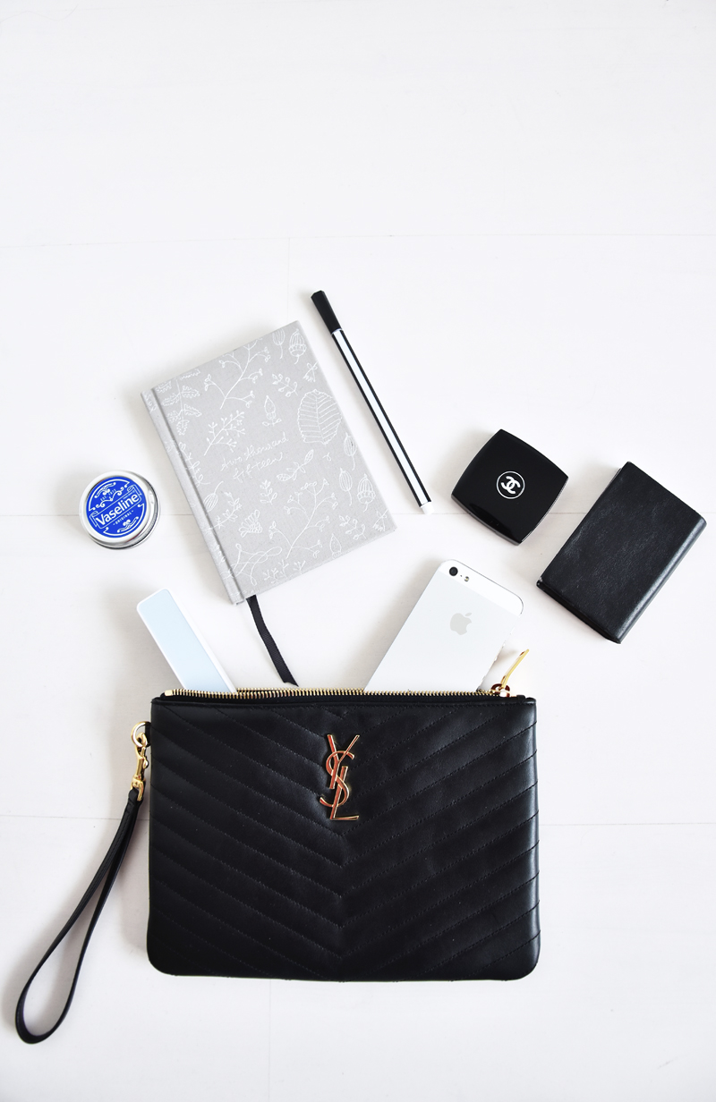 whats-in-my-bag-saint-laurent-ysl