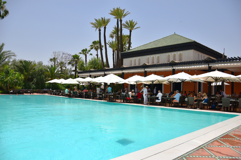 la-mamounia-suit-excutive-marrakech-ivg-travel-irene-van-guin-blog-blogger-pool-lunch-buffet-satc-morroco-swimming