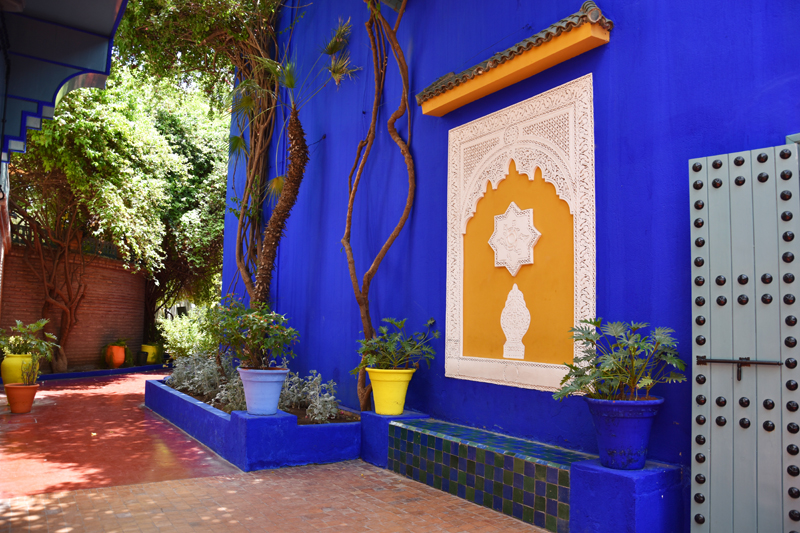 Top 5 hotspots in marrakech irene van guin for Jardin yves saint laurent marrakech