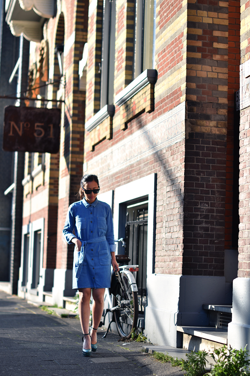 denim-shirt-dress-fashion-asos-button-up-irene-van-guin-shirt-dress-gucci-heels copy