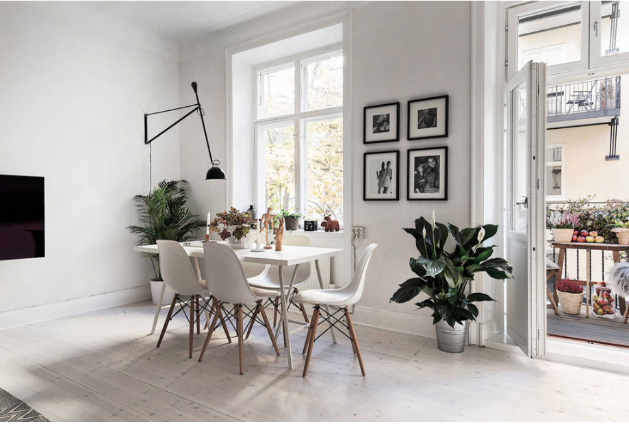 Scandinavian-Homes-tomtebogatan-dining-area-eames