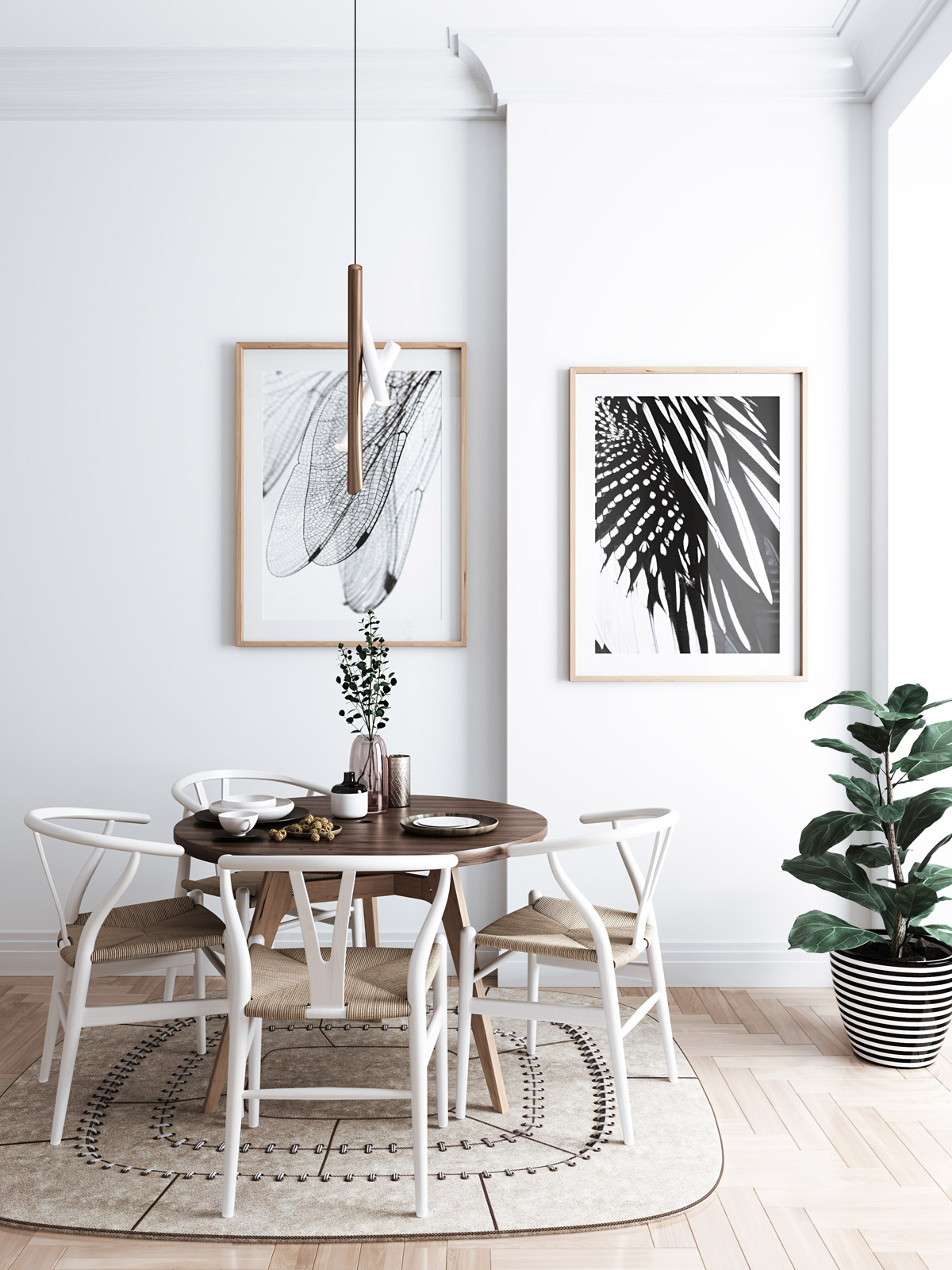 Dining-Room-Wing-Art