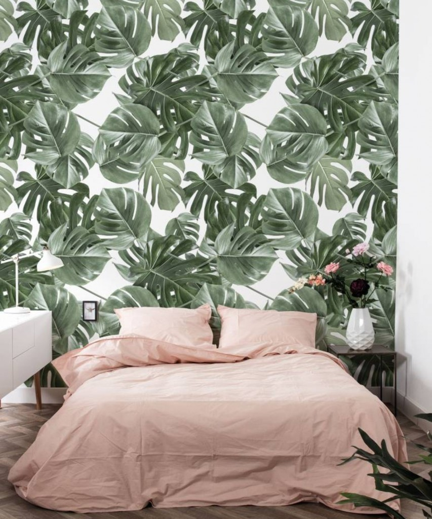 kek-amsterdam-monstera-leaves-wp-584-behang