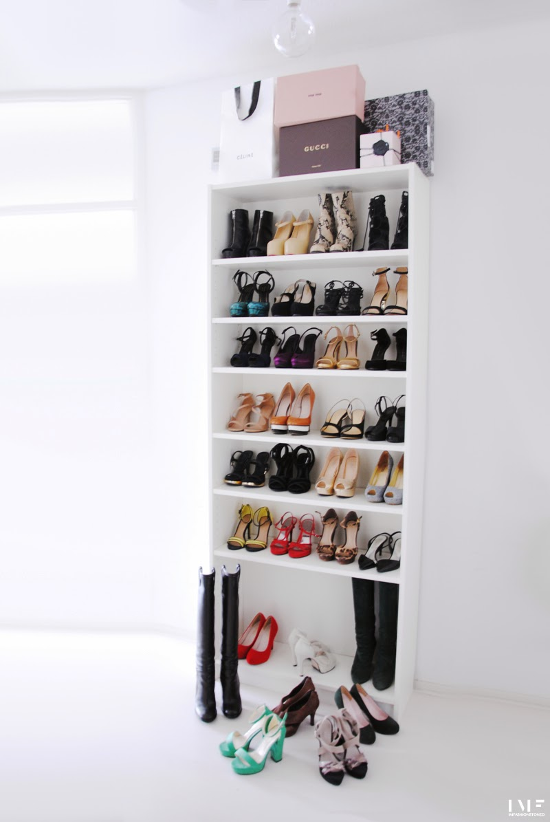 diy billy bookcase for shoes irene van guin. Black Bedroom Furniture Sets. Home Design Ideas