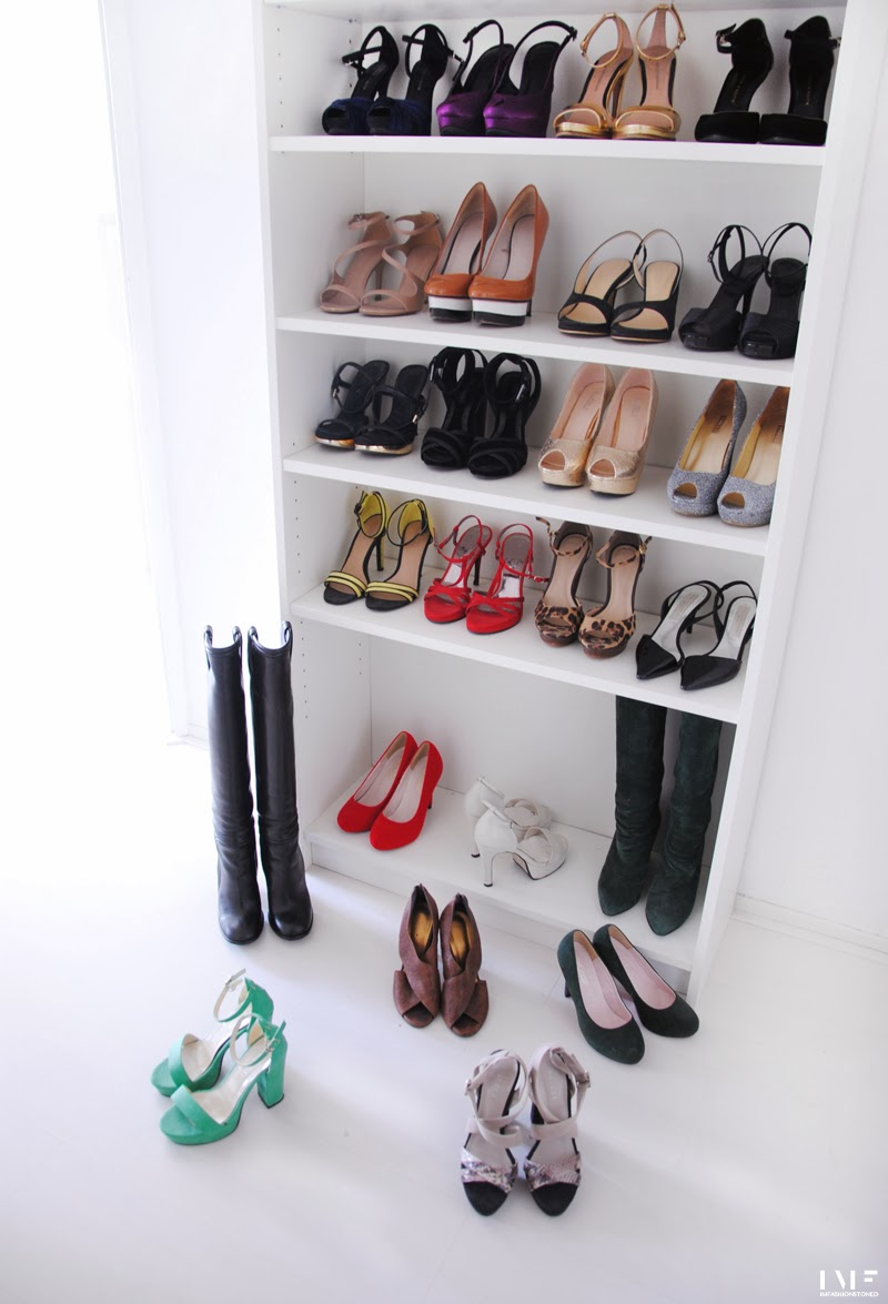 diy billy bookcase for shoes